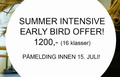 early bird offer2